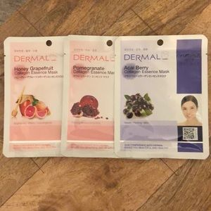Dermal Collagen Face Masks.